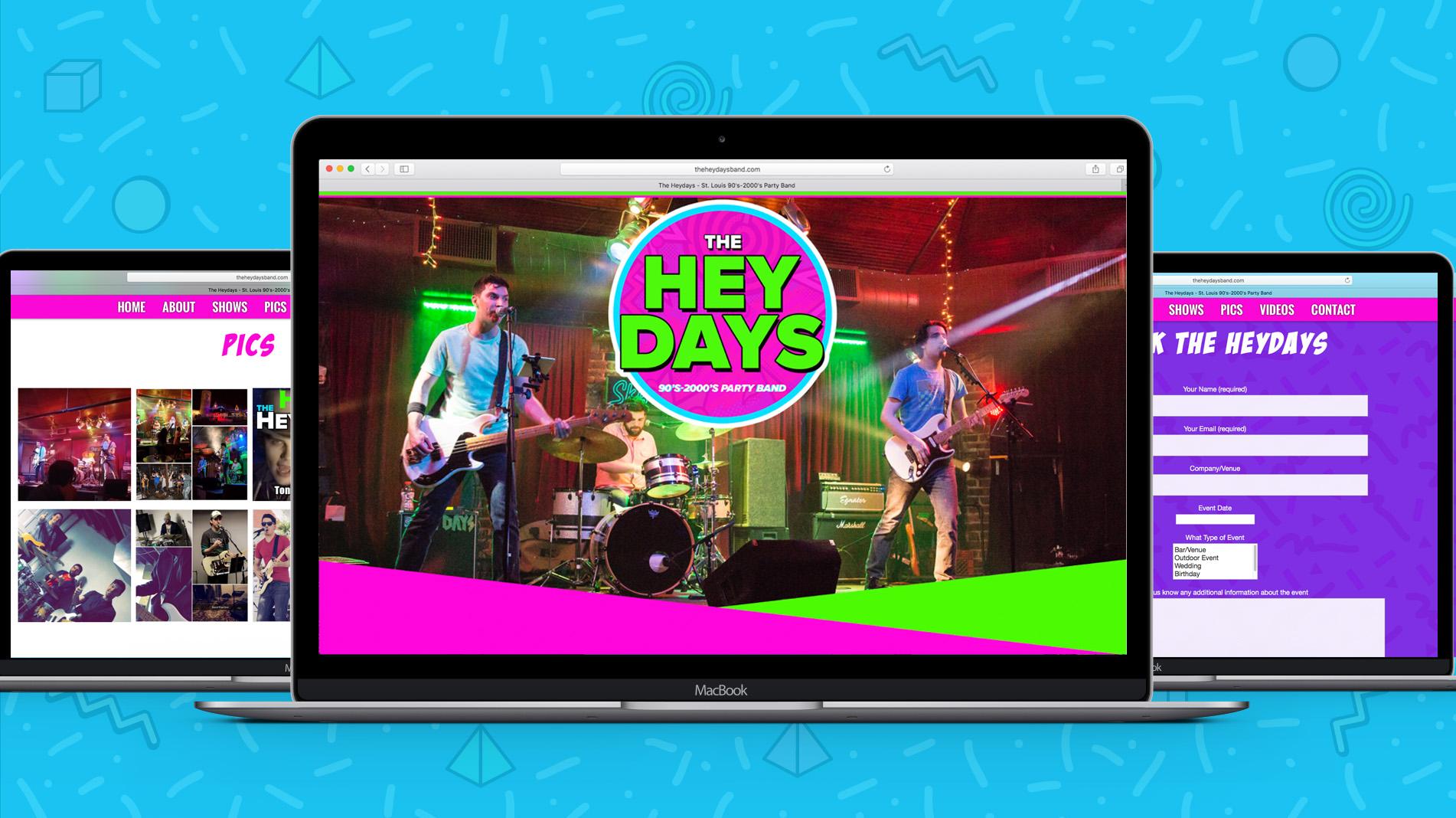 Heydayswebsite